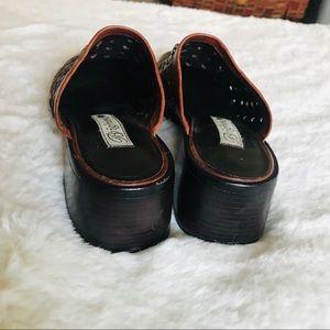 Brighton Shoes - Brighton heart mules size 9